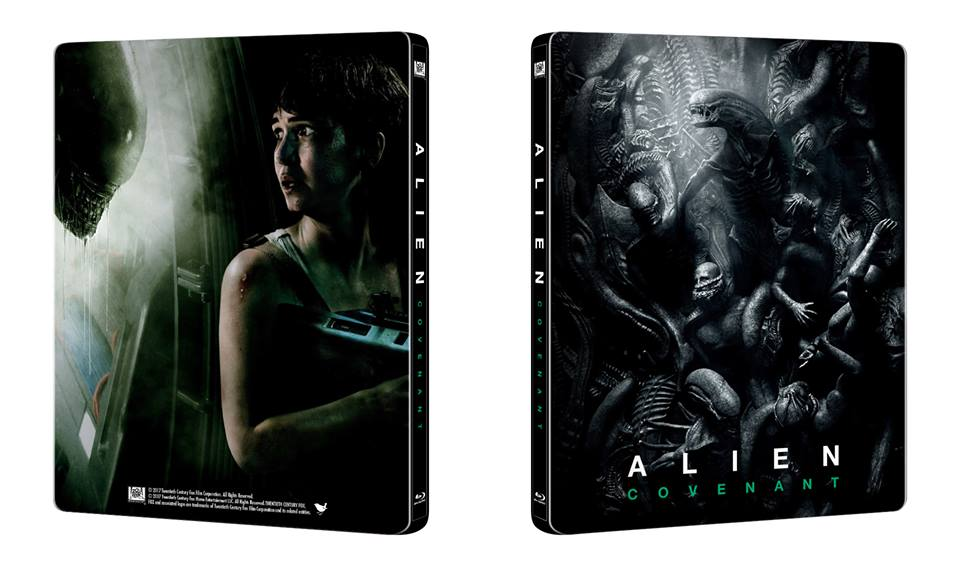 alien covenant steelbook manta lab