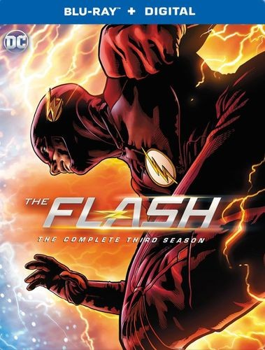 flash season 3 steelbook
