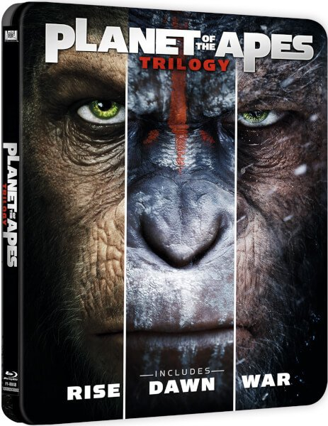 planet apes Trilogy steelbook
