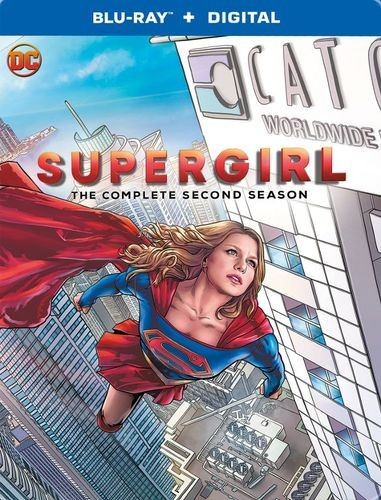 supergirl season 2 steelbook