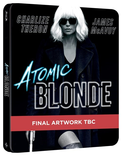 Atomic Blonde steelbook
