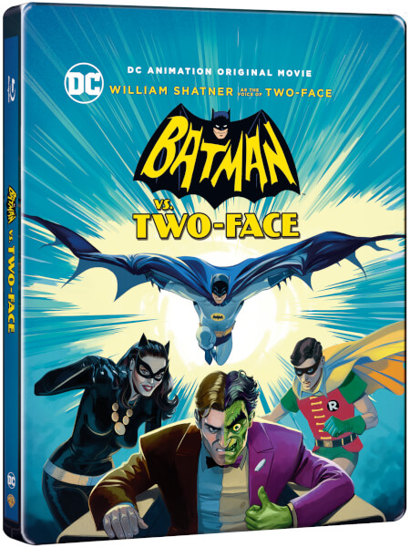 Batman vs Two Face steelbook
