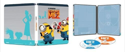 Despicable Me 2 steelbook BestBuy