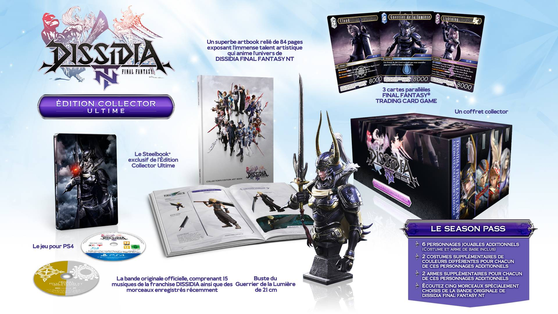 DissidiaNT collector steelbook