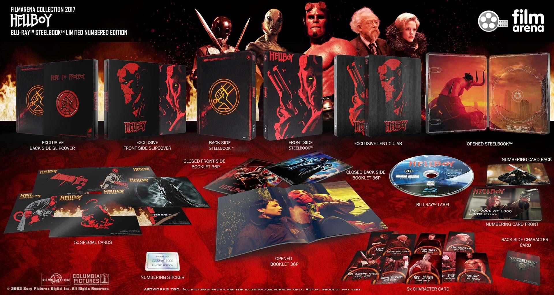 Hellboy steelbook filmarena 2