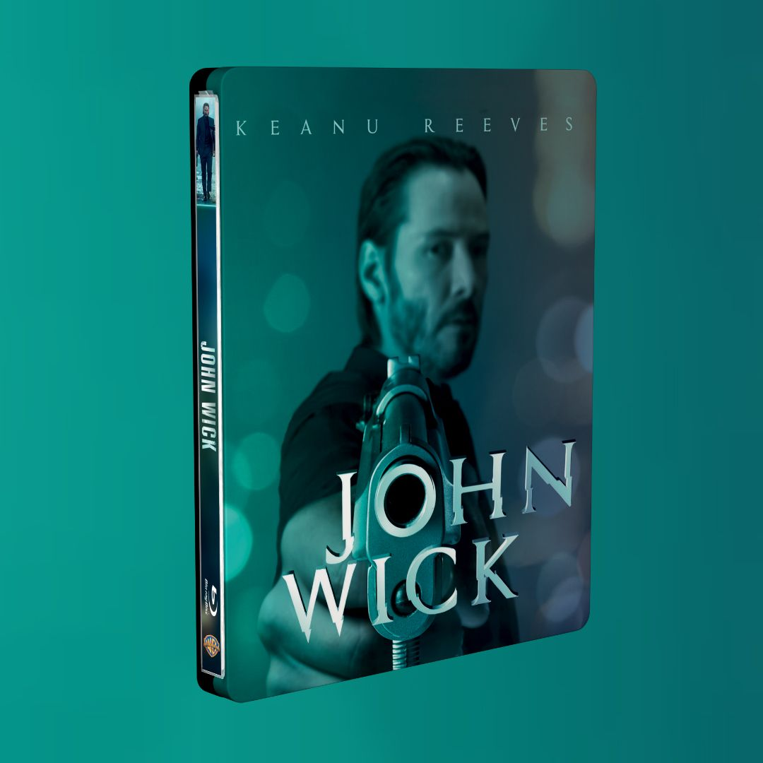 John Wick steelbook zavvi