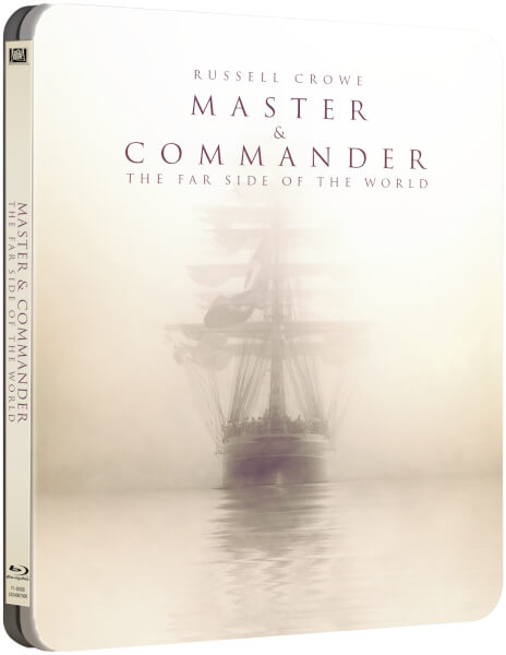 Master and Commander steelbook zavvi 1