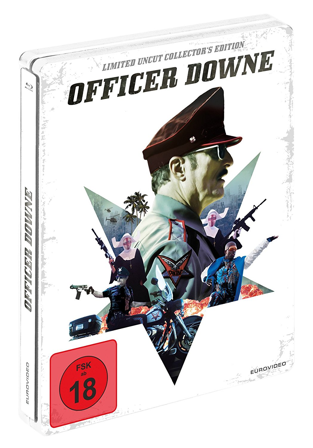Officer Down steelbook