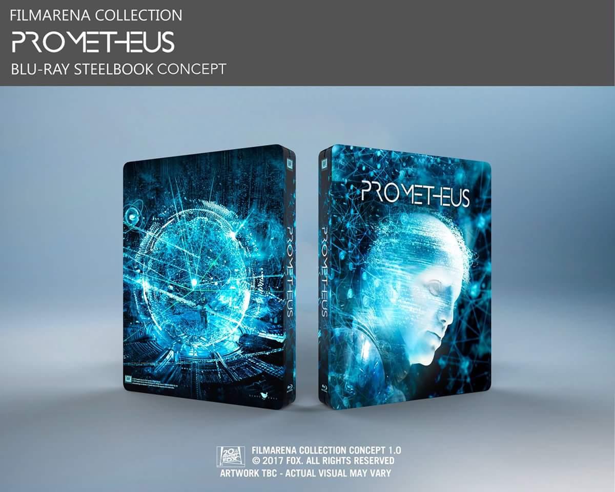 Prometheus steelbook filmarena