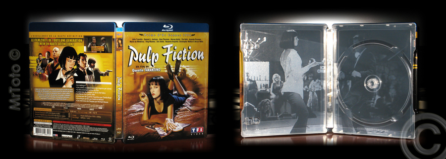 Pulp Fiction steelbook FR 1