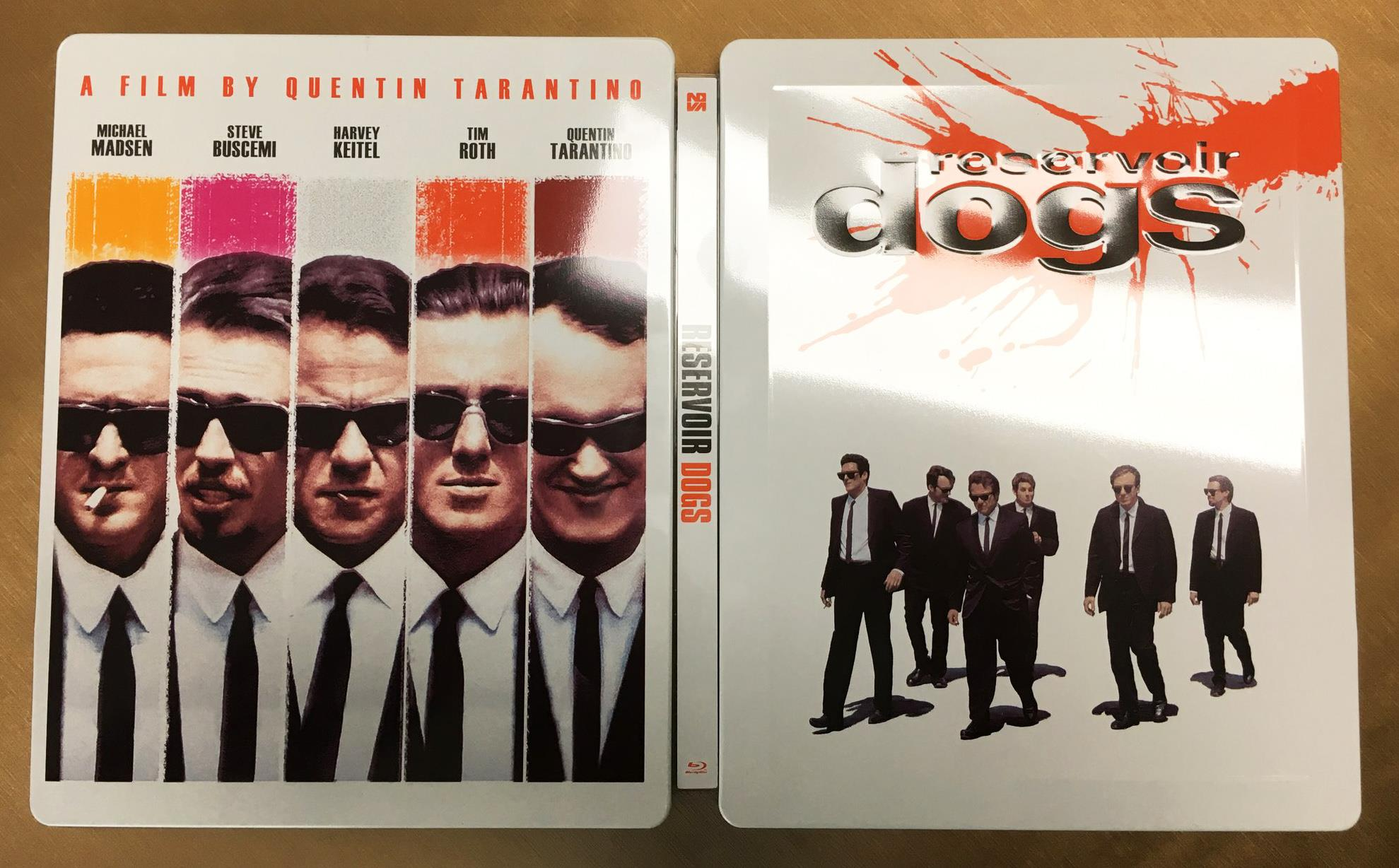 Reservoir Dogs steelbook novamedia 1