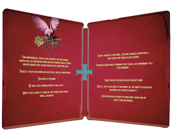Romeo + Juliet steelbook 3