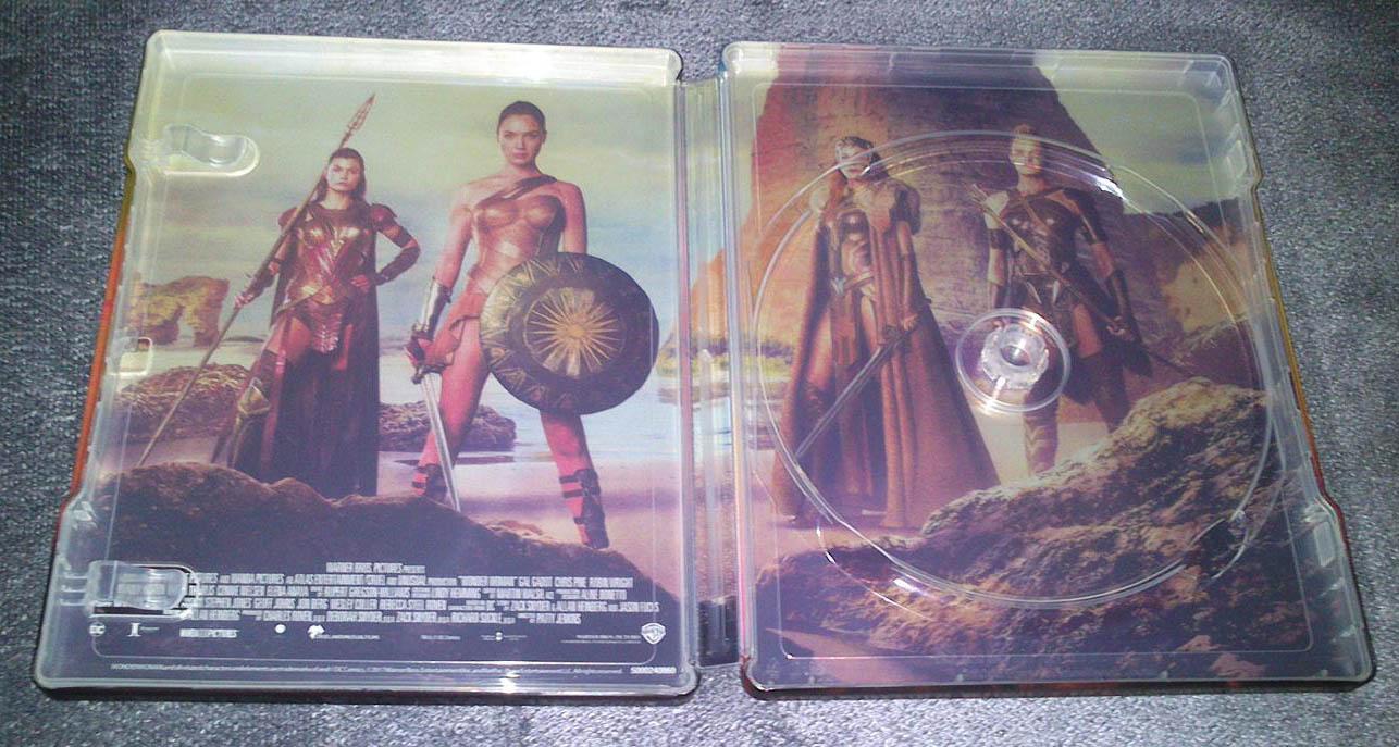 Wonder Woman MediaMarkt steelbook3