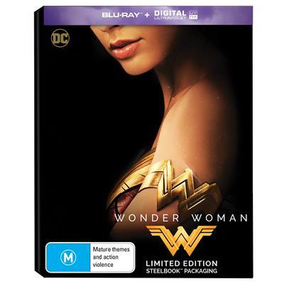 Wonder Woman steelbook AU