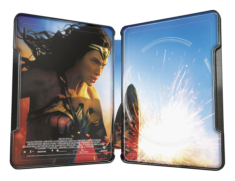 Wonder Woman steelbook DE 4K 2