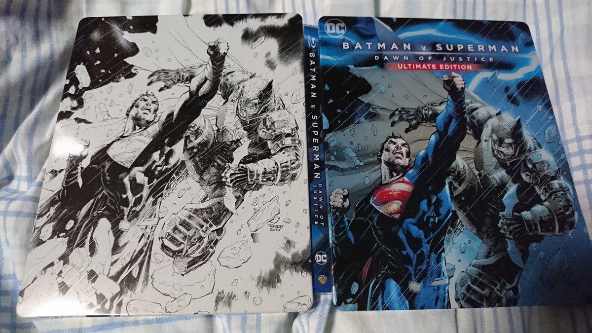 Batman V Superman steelbook 1