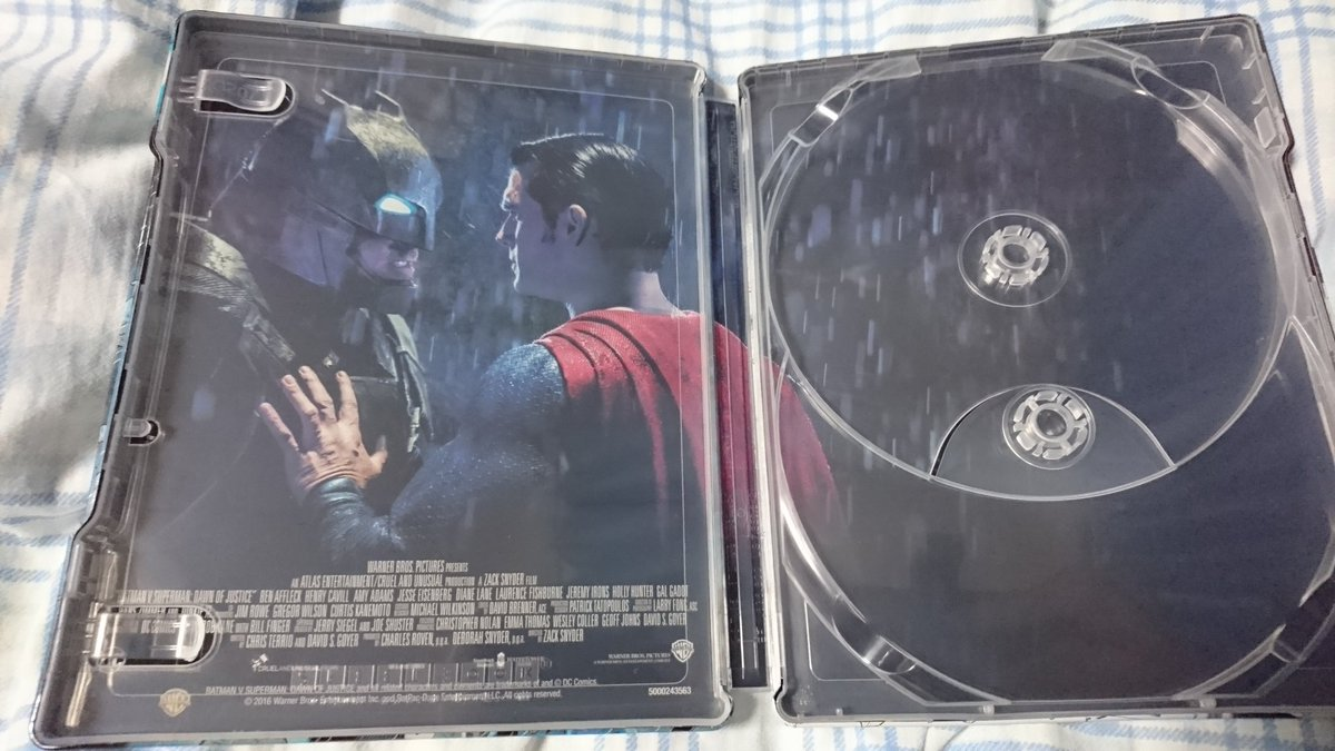 Batman V Superman steelbook 2