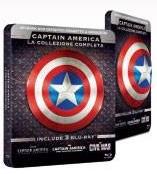 Captain America Trilogy steelbook