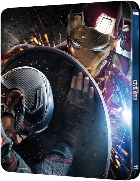 Civil War steelbook zavvi 2