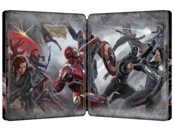 Civil War steelbook zavvi 3