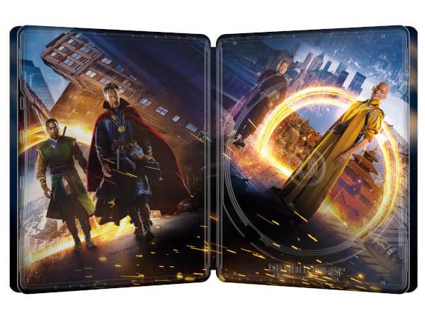 Doctor Strange steelbook zavvi 3