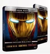 Iron Man Trilogy steelbook