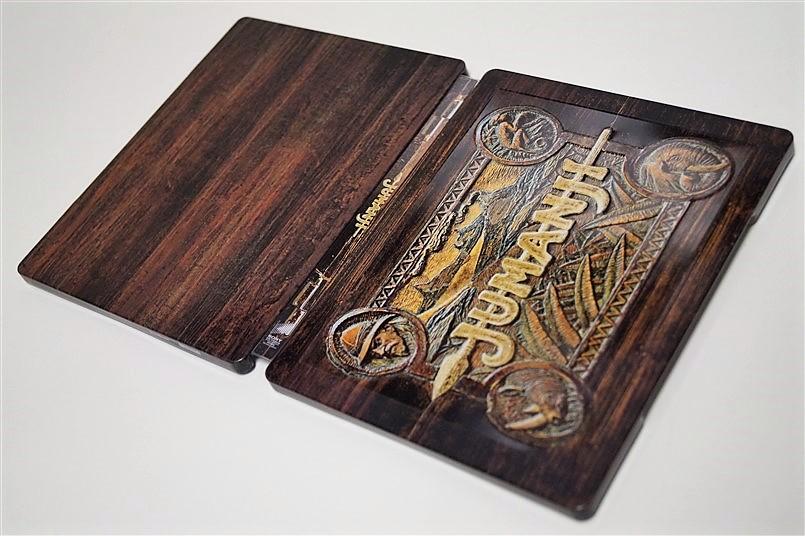 Jumanji steelbook 3