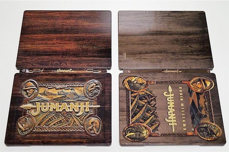 Jumanji steelbook 5