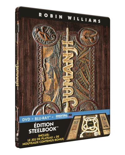 Jumanji steelbook fr