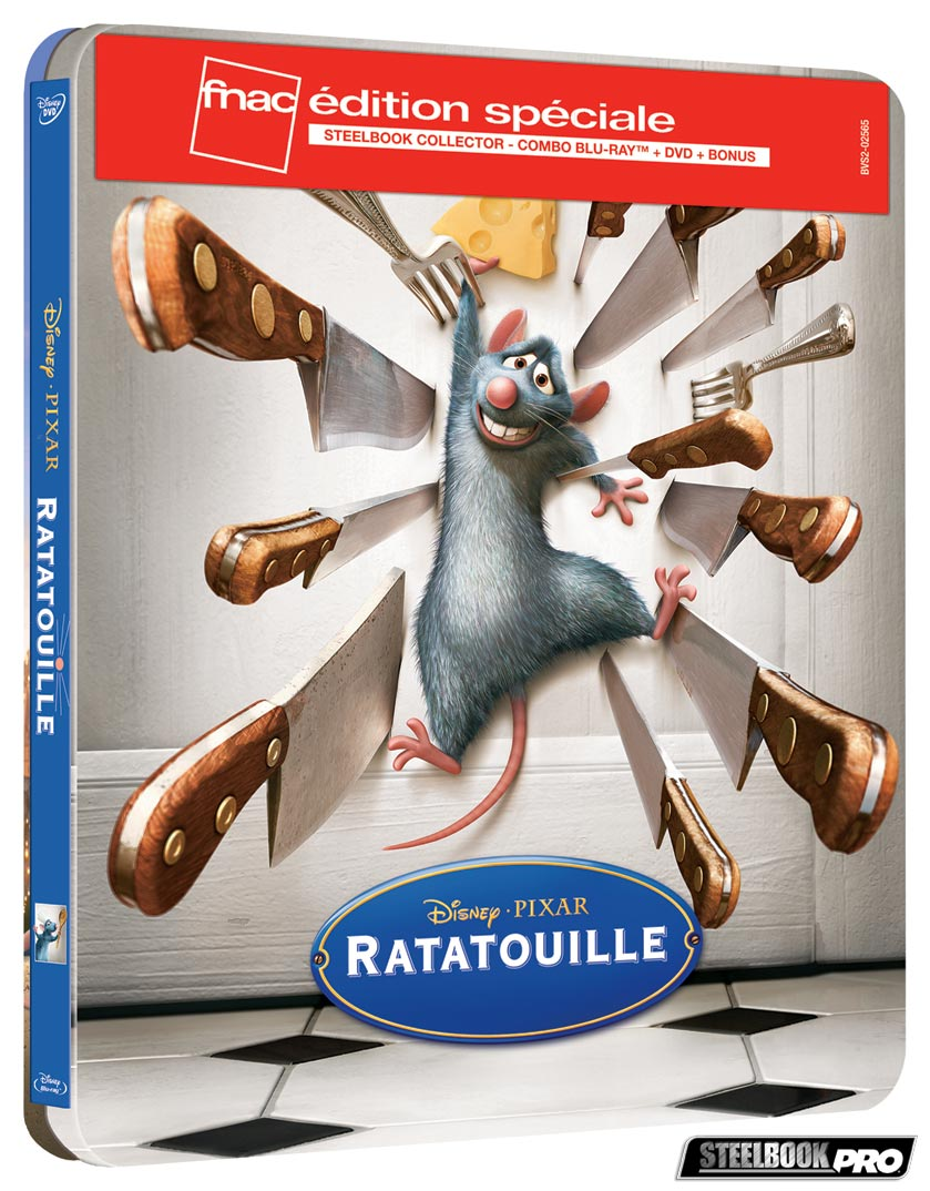 Ratatouille-steelbook-fnac