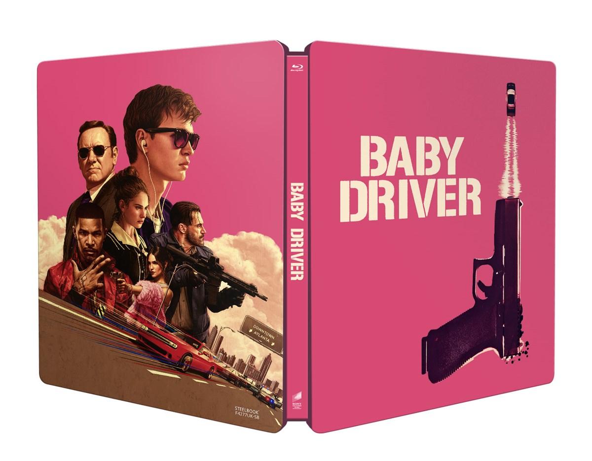 Baby Driver steelbook UK 1