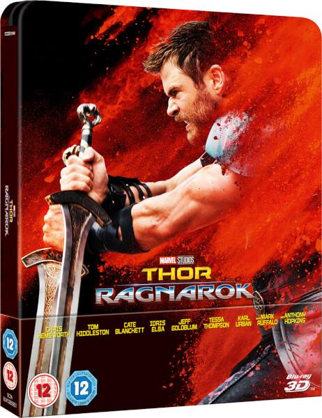 Thor Ragnarol steelbook zavvi