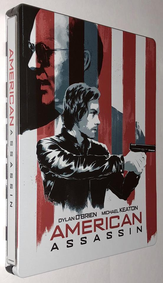 American Assassin steelbook us 1