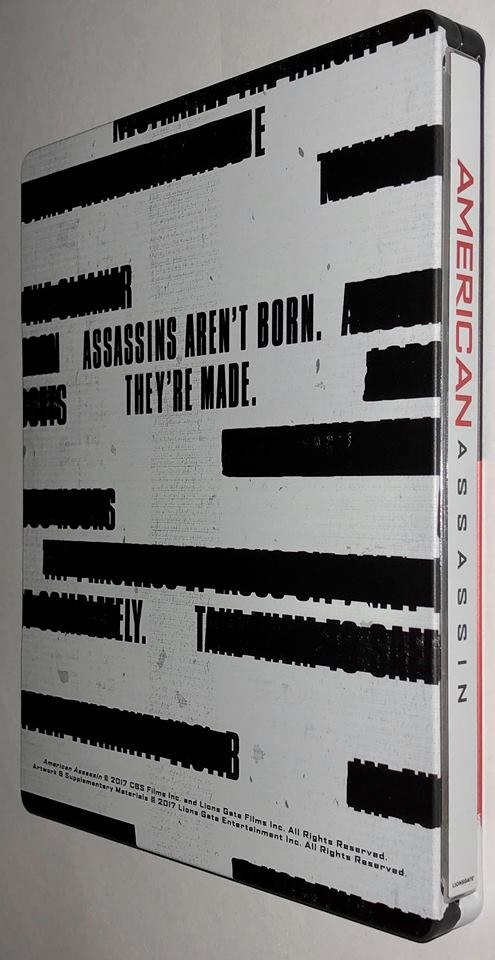 American Assassin steelbook us 2