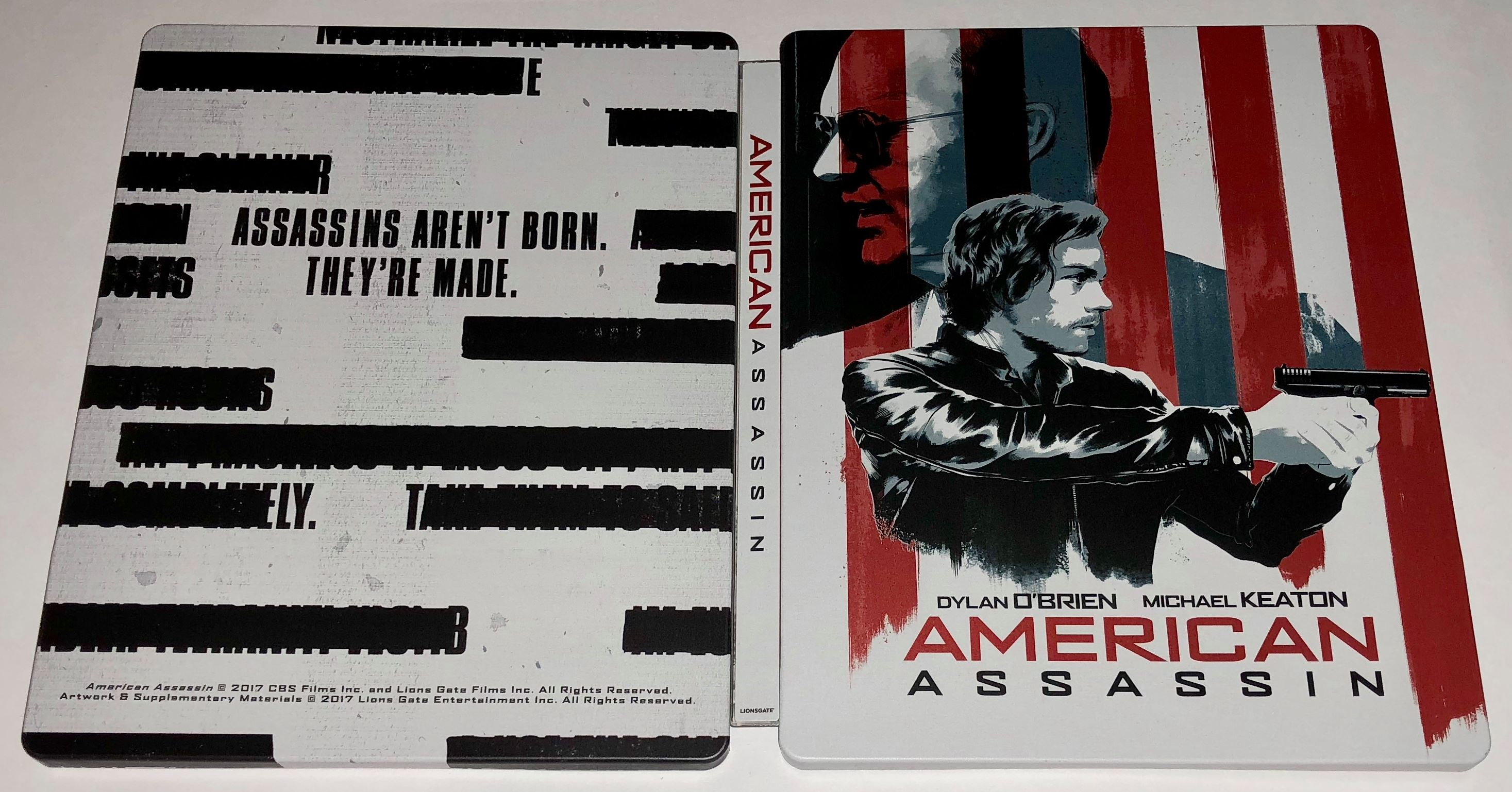 American Assassin steelbook us 3