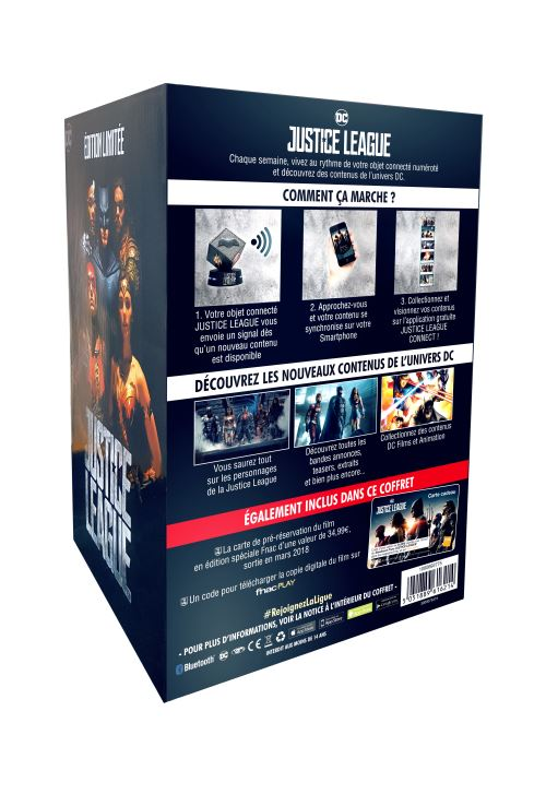Justice League collector fnac 2