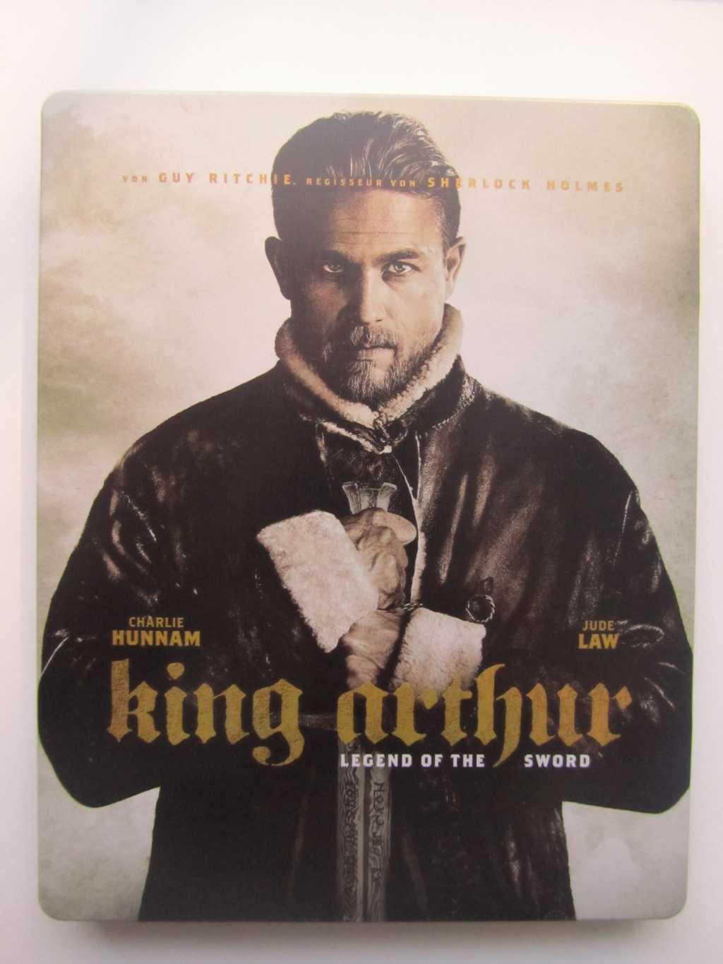 King Arthur steelbook DE 1
