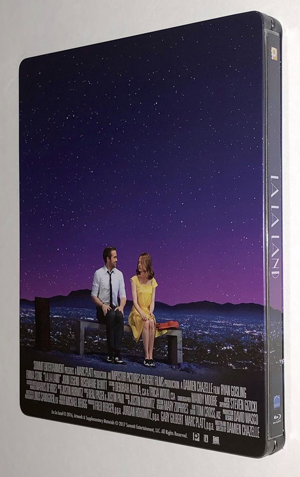 La La Land steelbook Manta Lab 2