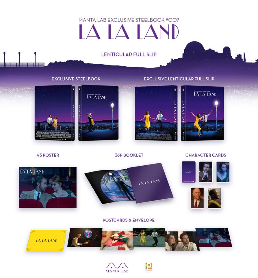 La La Land steelbook mantalab 1
