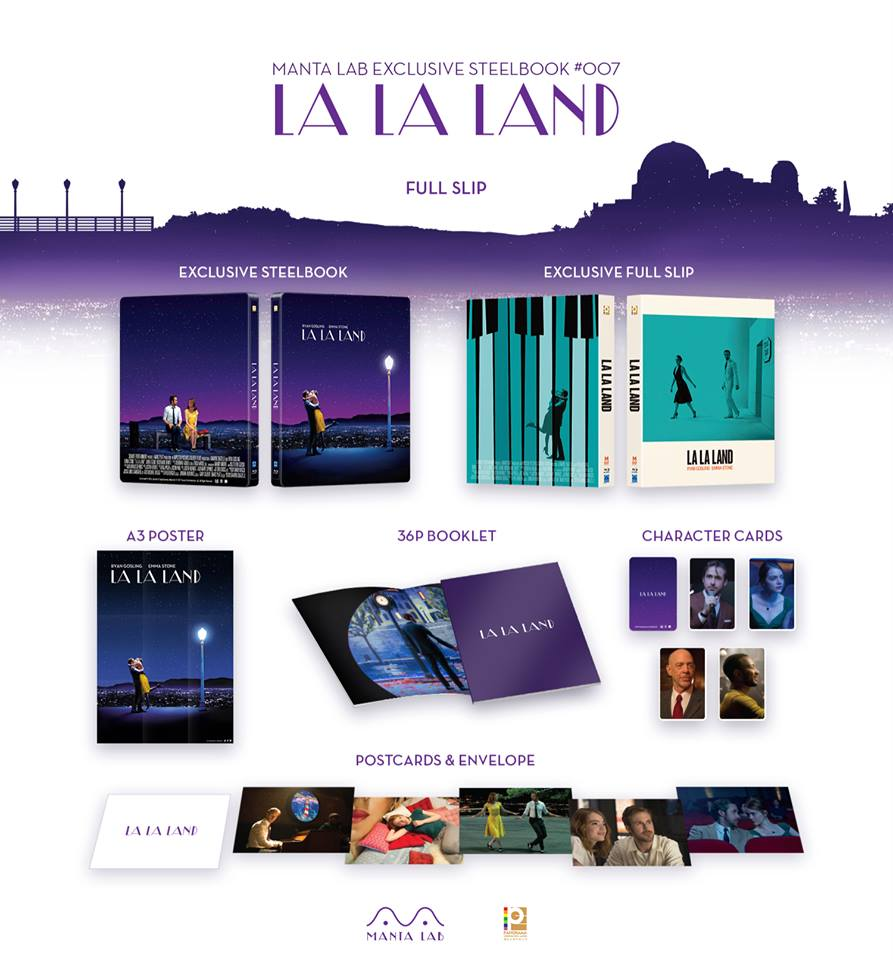La La Land steelbook mantalab 2