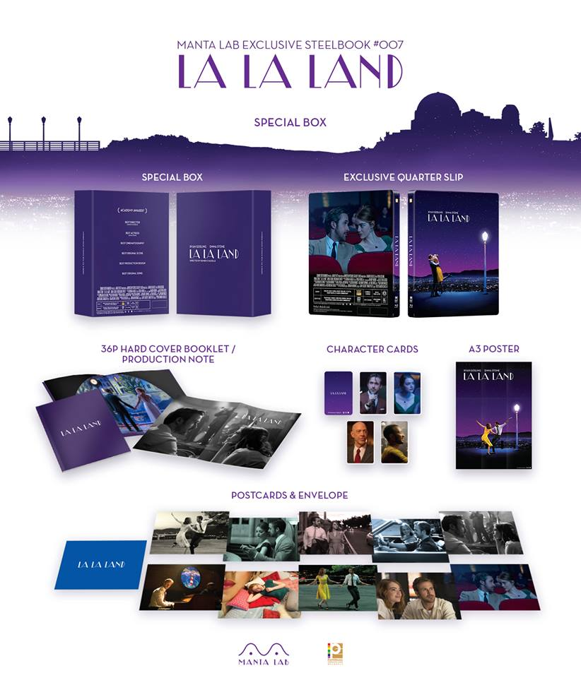 La La Land steelbook mantalab 3