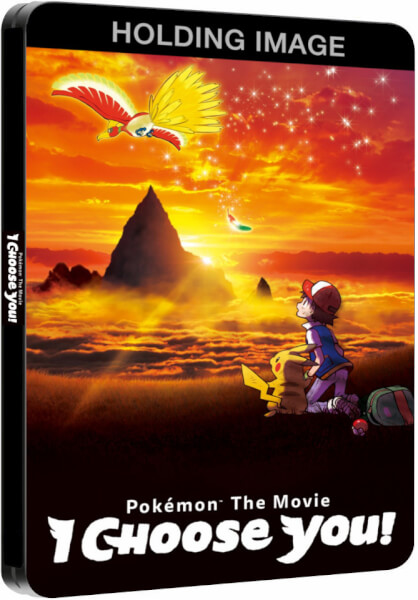 Pokemon Movie I Choose You steelbook