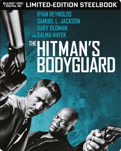 The Hitman 's Bodyguard steelbook BestBuy