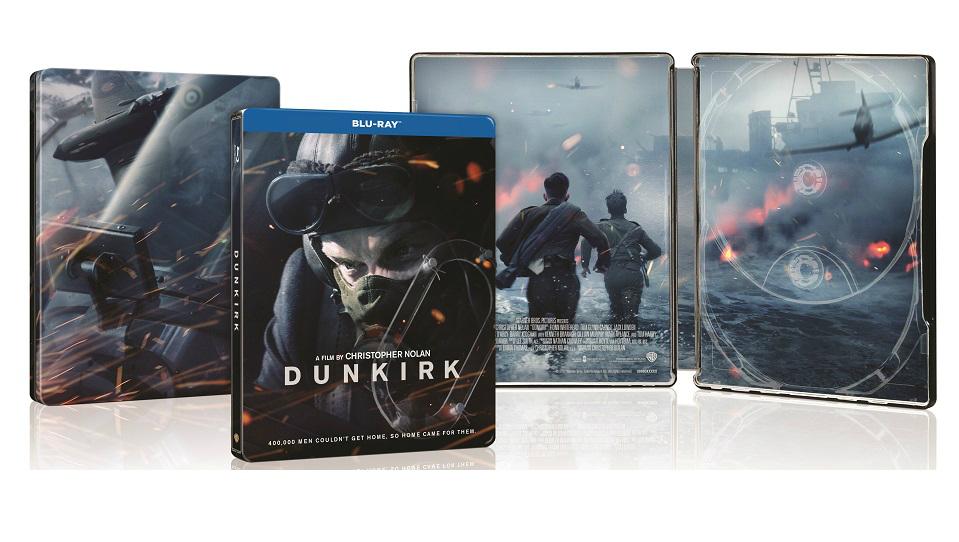dunkirk steelbook blu ray_front_back_inside