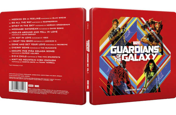 Guardian of the Galaxy vol.1 CD steelbook 1
