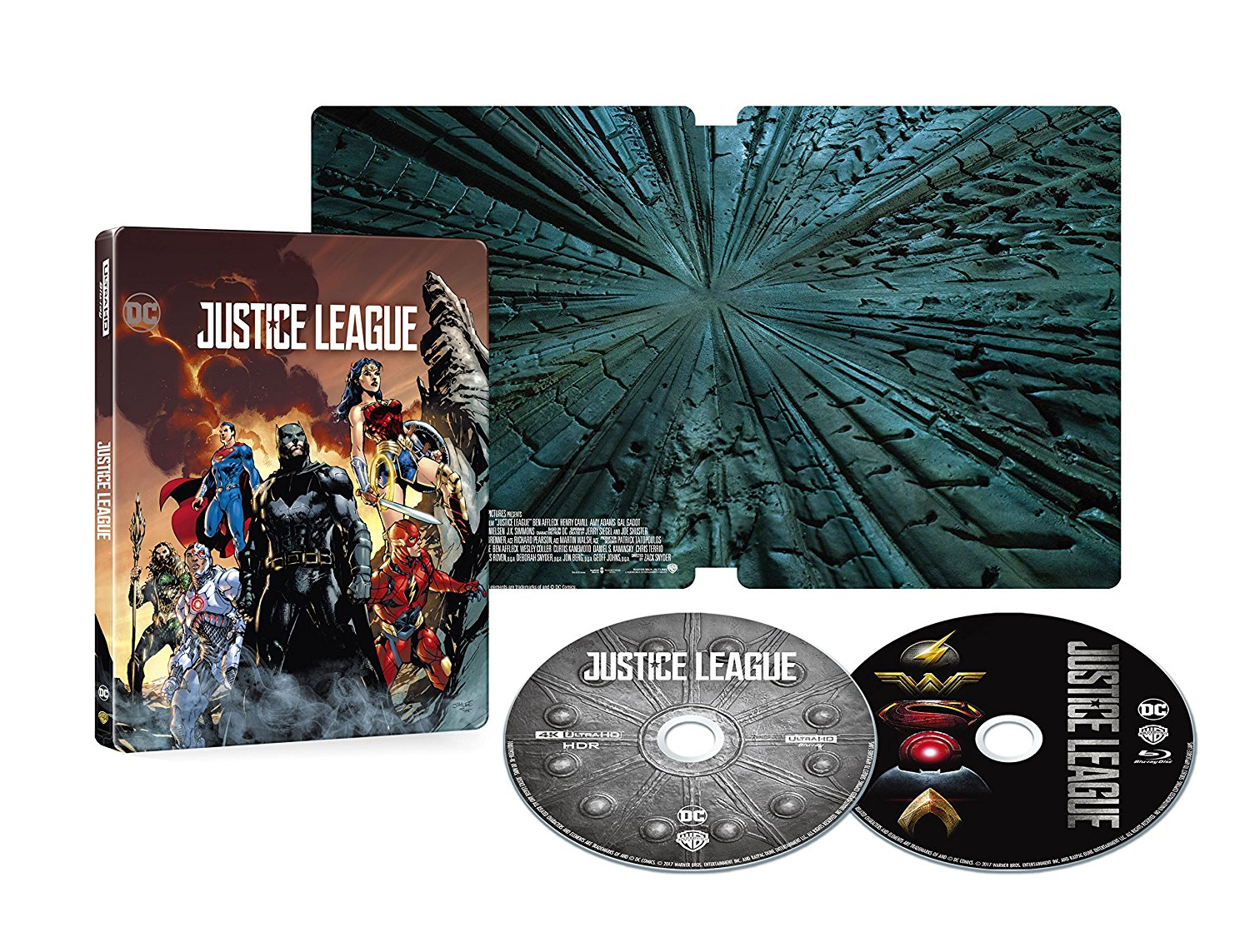 Justice League-4K-steelbook