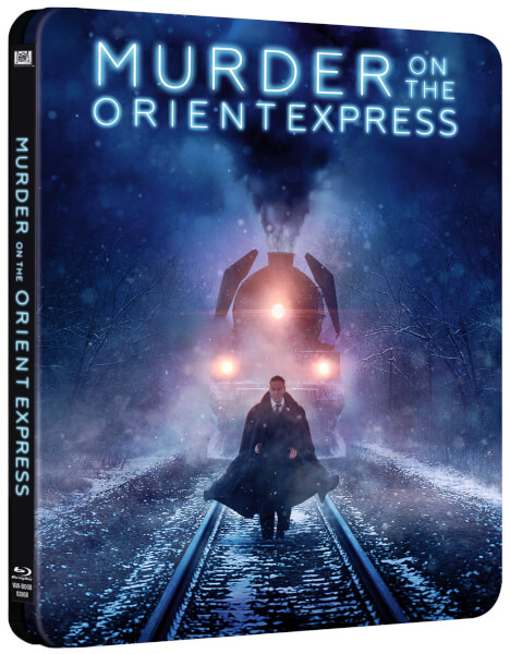 Murder on the Orient Express steelbook zavvi 1