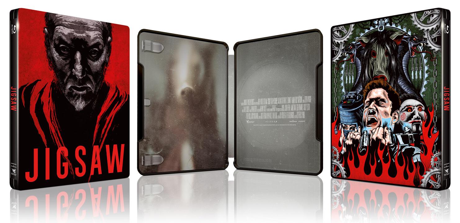Saw-8-Jigsaw-Edition limitée Steelbook - Blu-Ray