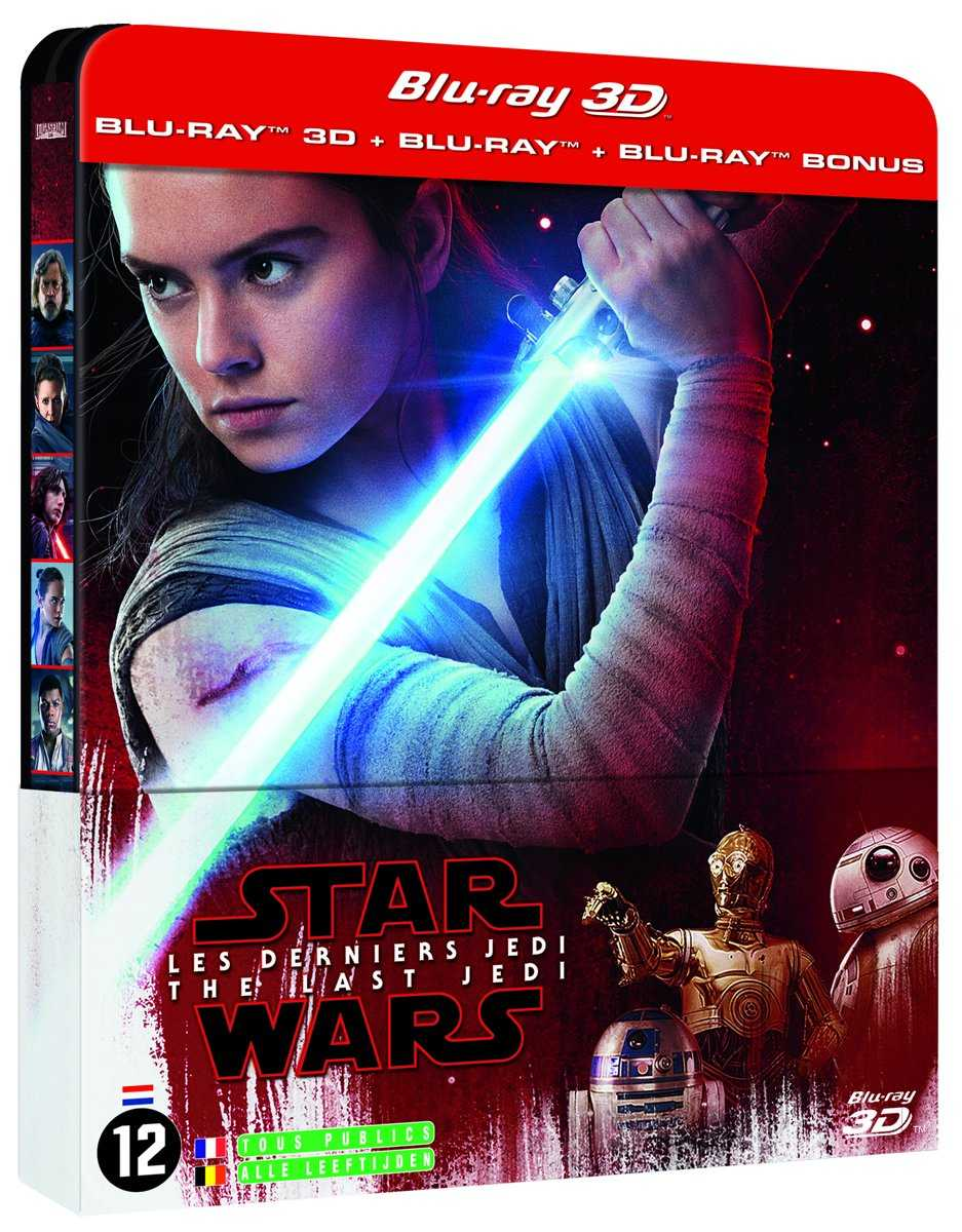 Star Wars Last Jedi steelbook eur