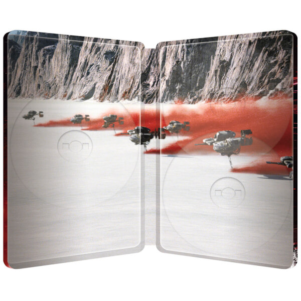 Star Wars The Last Jedi steelbook zavvi 3